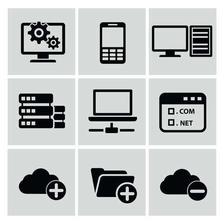 Networking icons,vector Vector