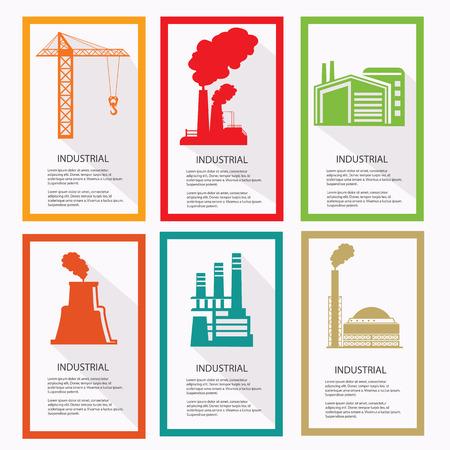 steamroller: Industrial banner,vector