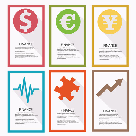 currency converter: Finance banners,vector Illustration