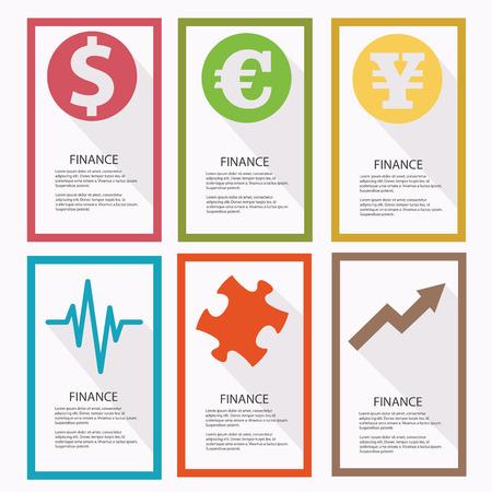converter: Finance banners,vector Illustration