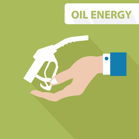 Oil energy concept,vector Vector