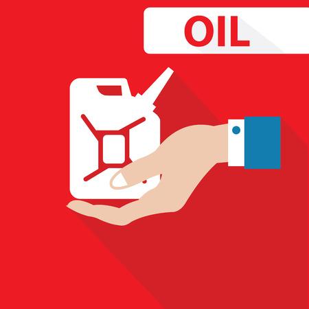 Oil Concept,vector Vector