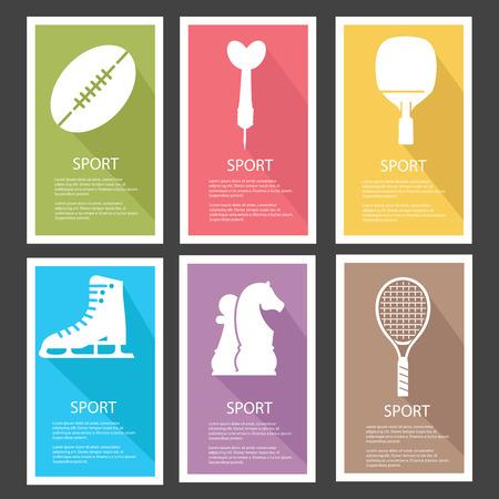 Sport banners,vector Vector