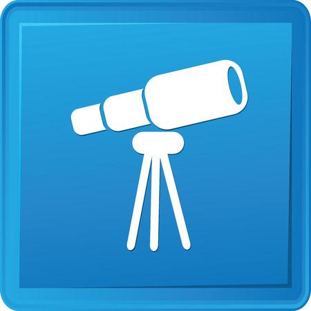 Binocular button,vector Vector