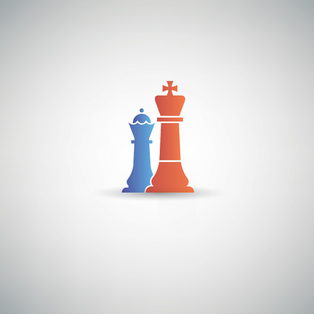 chess king: Chess symbol,vector