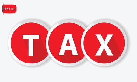 owe: Tax symbol,vector