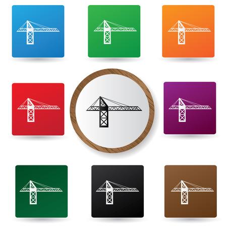 road scraper: Construction symbol,vector Illustration