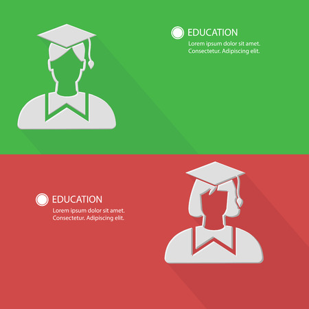 convocation: Education concept,Blank for text. Stock Photo