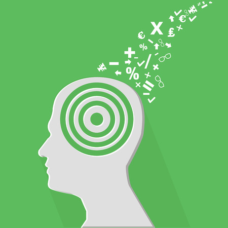 Brain education concept,vector Stock Vector - 27948409