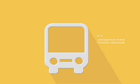 Bus,Transport concept,Blank for text,vector Vector