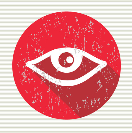 Eye symbol,vector Vector