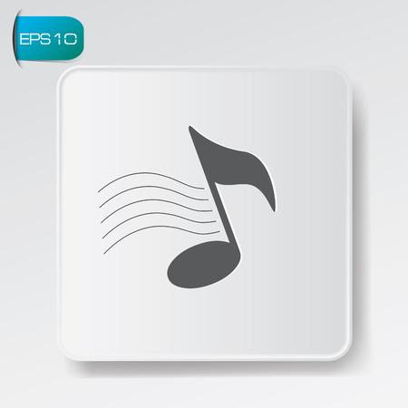 musicsheet: Song symbol,vector