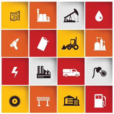 Construction   Industry icon set,vector Vector