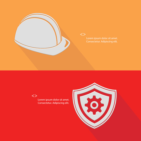 Security concept,Engineering ,Blank for text,vector Vector
