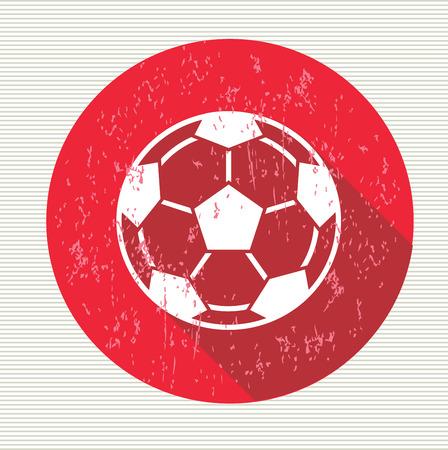 futbol soccer: Football sign, vector