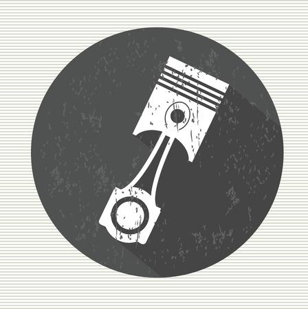 springy: Shock symbol,vector