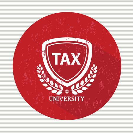 Tax symbol Vector