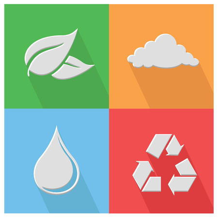 Nature icon,vector Vector