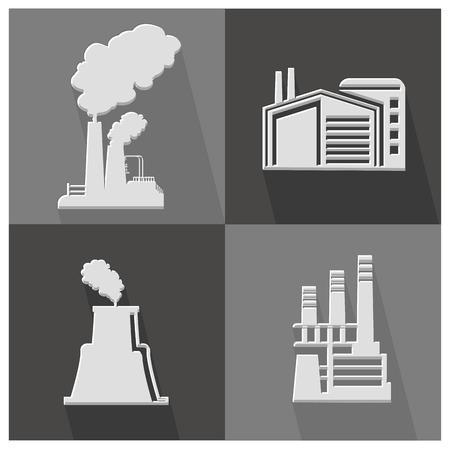 Industry icon,vector Vector