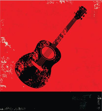 Guitar symbol,vector Vector