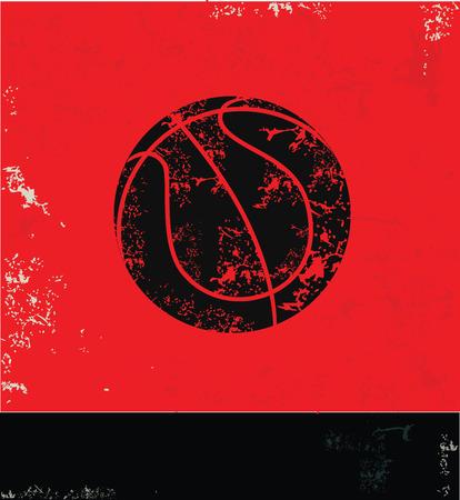 Bassketball symbol,vector Vector