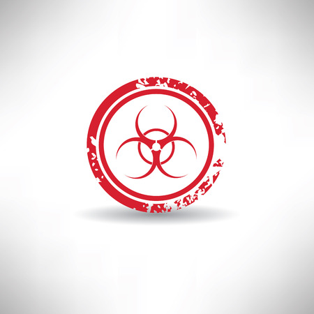 nuclear symbol: S�mbolo nuclear, grunge vector