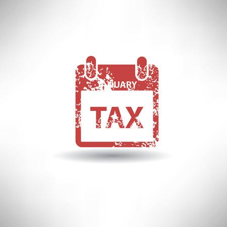 owe: Tax symbol,grunge vector