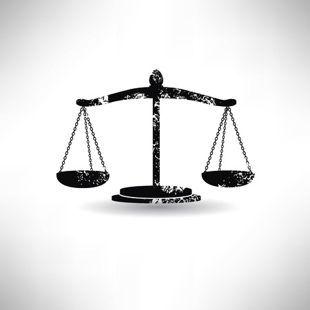 acquittal: Justice law,grunge vector