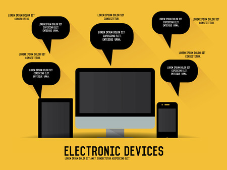 electronic device: Electronic device concept