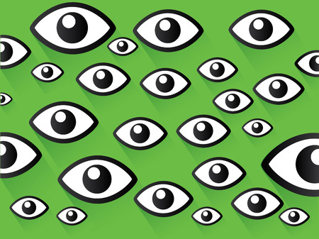 hypnotizing: Eyes concept,vector