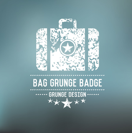 Bag badge,vector Vector
