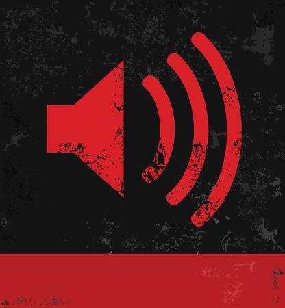 Sound symbol Vector