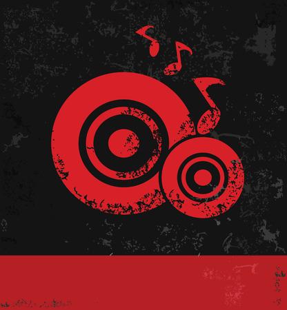 Song symbol Vector