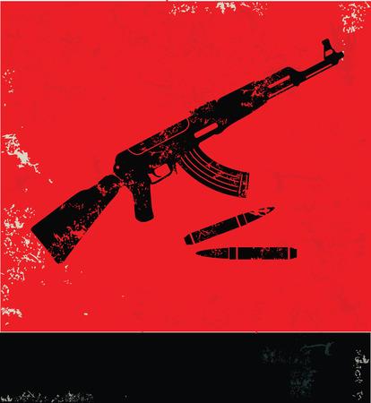 Gun symbol photo