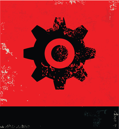 Gear symbol photo