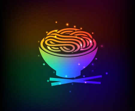 Noodle symbool, Rainbow vector