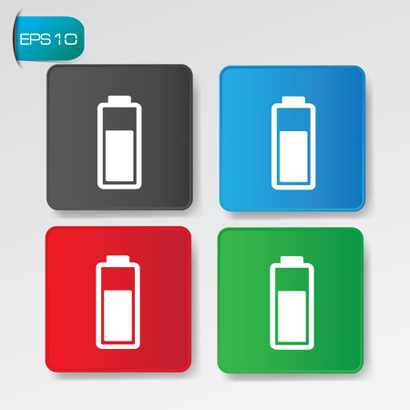 Power buttons,vector Vector