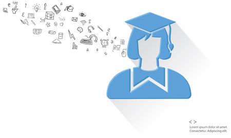 Education concept,vector Vector