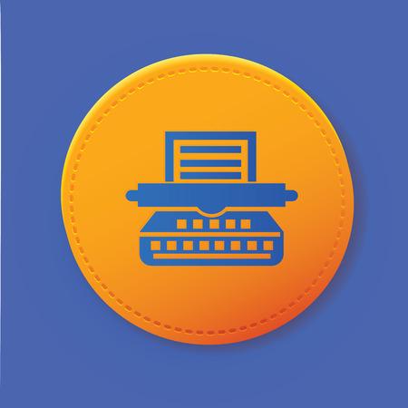 mfp: Printer symbol on button