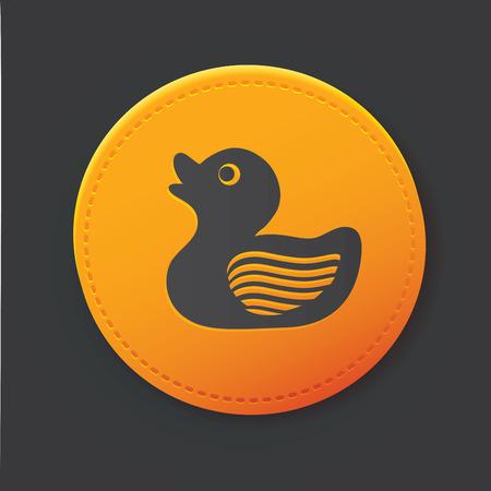 bathtime: Duck button
