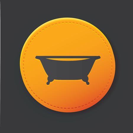 hot tub: Bath button
