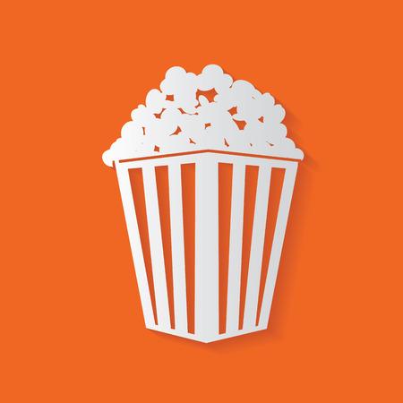 a bag: Popcorn symbol