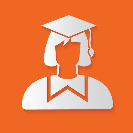 qualified: Student symbol