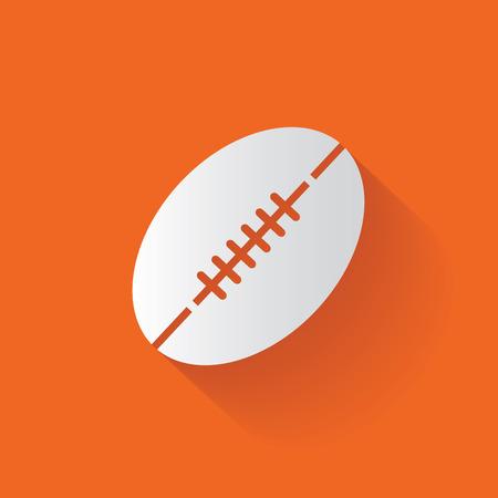 Rugby symbol Vector