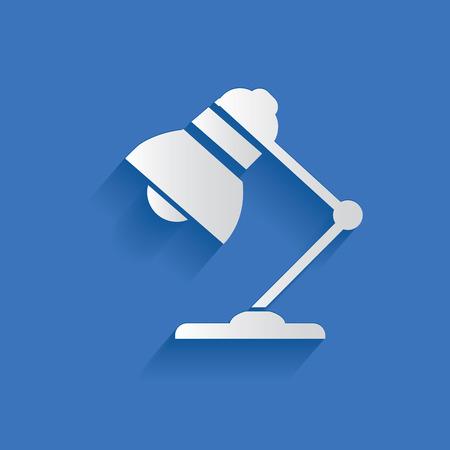 fixture: Lamp symbol Illustration