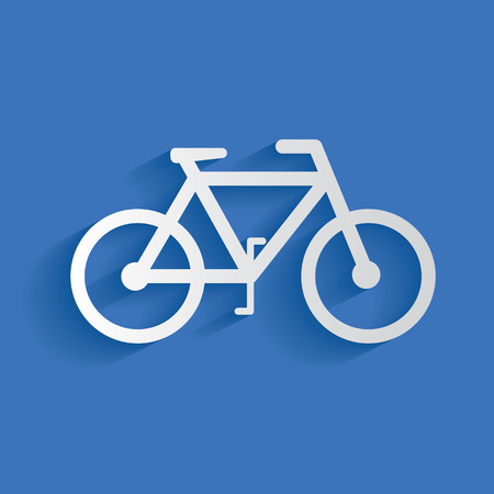 cruiser bike: Bicycle symbol