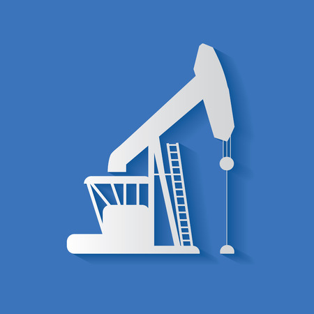 petroleum blue: Oil industry symbol