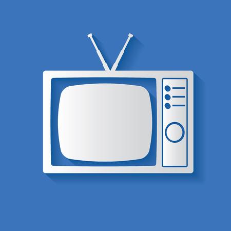 Television symbol Vector