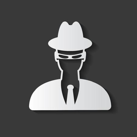 Spy symbol  イラスト・ベクター素材