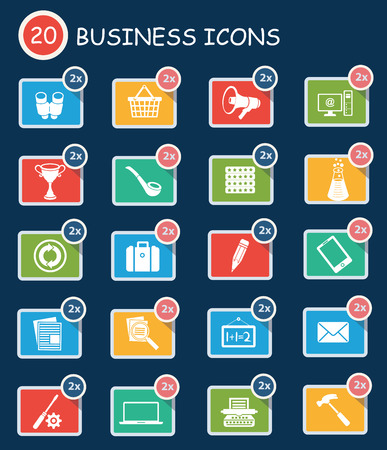 tea basket: Business icons,clean vector